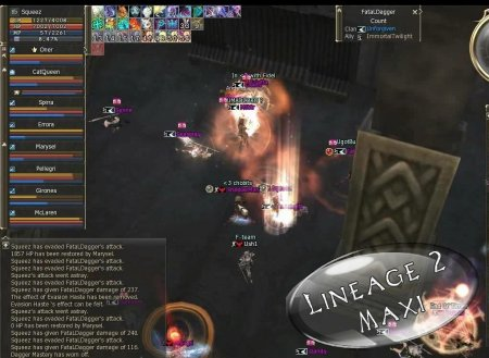 Мувик LineAge 2 [RedSky] April 2009