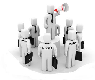 На сайт и модераторов на форум