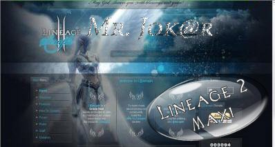 Lineage 2 Web Page Flash By Fane