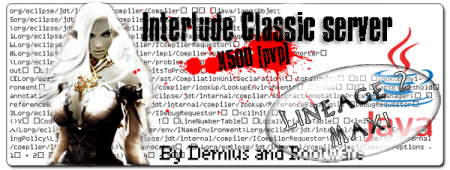 Готовый сервер Interlude Classic x5000 By Demius And Rootware
