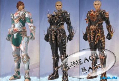 Armor Elegia of Freya for Interlude