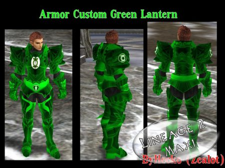 [Freya] Armor Heavy Custom Green Lantern