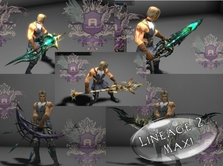 Ixion Weapons by Avengers Team for Interlude