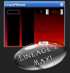 CrazyMouse для Lineage