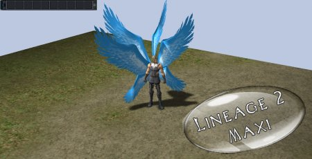 Demonic Wings Blue