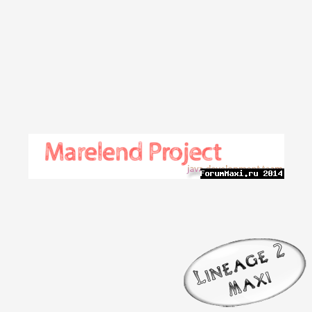 [Marelend-Project] Epilogue Release Candidate 1
